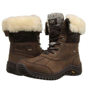 UGG Adirondack Boot Chocolate Brown UGGS Boots 8